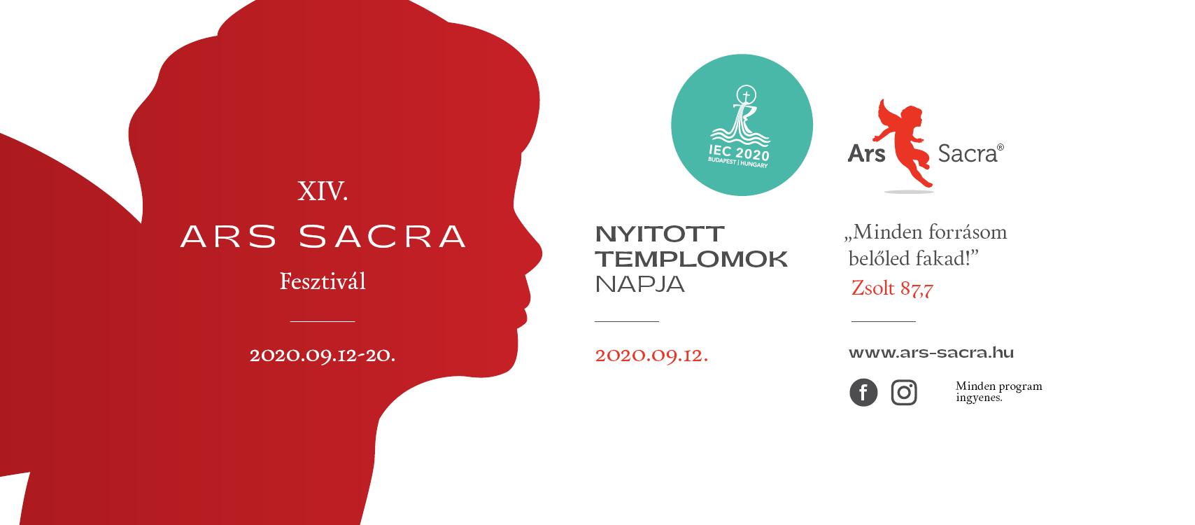 Ars Sacra Fesztivál hajdúdorogi programja